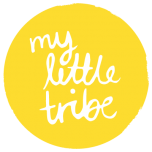 my little tribe logo white